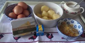 ingredienten aardappeltaart
