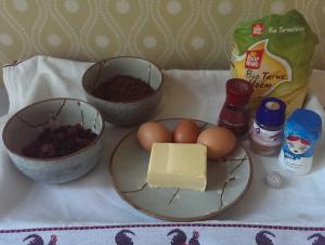 Ingredienten kruidtaart