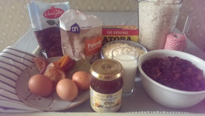 Ingredienten pudding